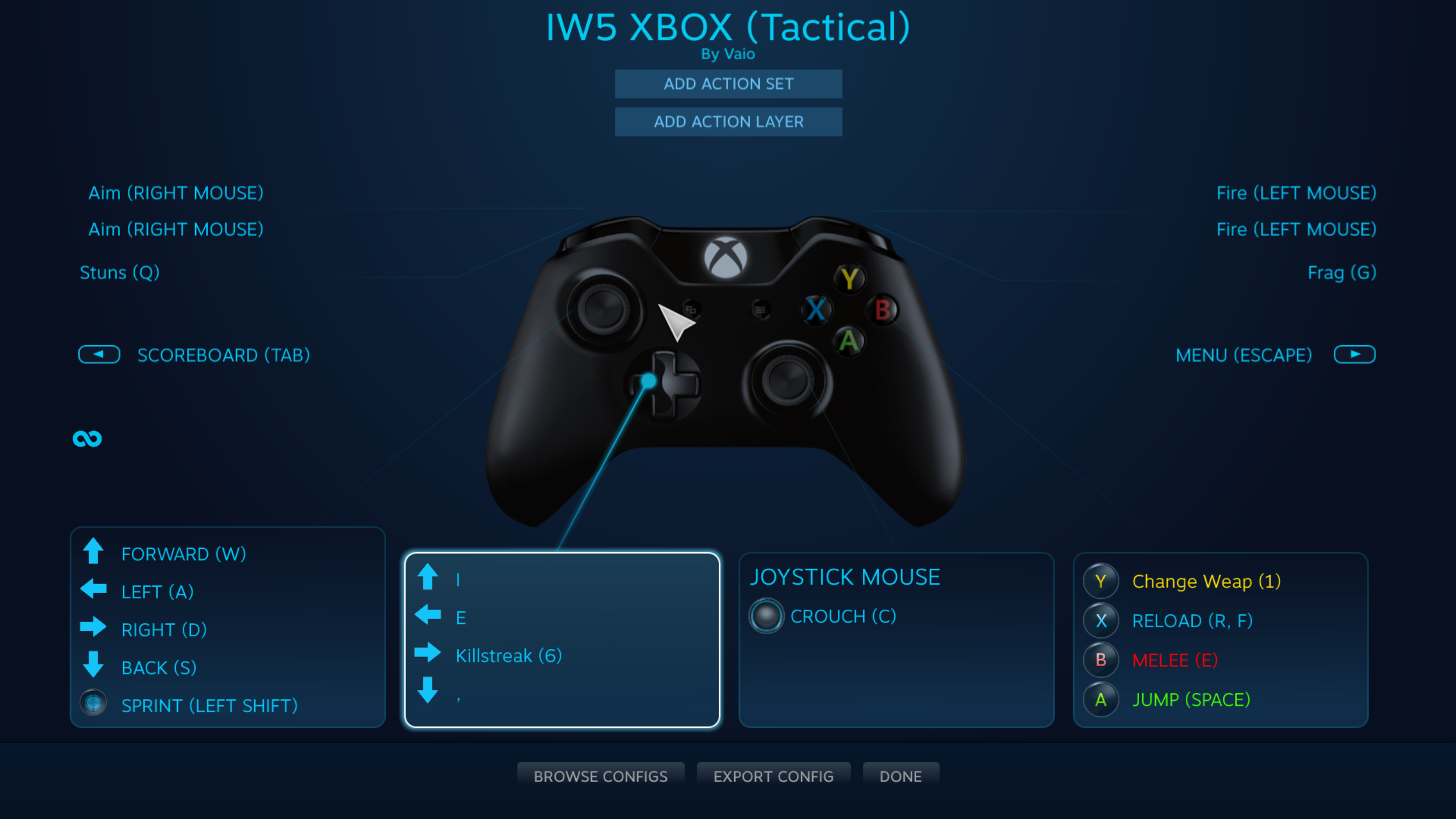 Please Help With Controller Config Setup